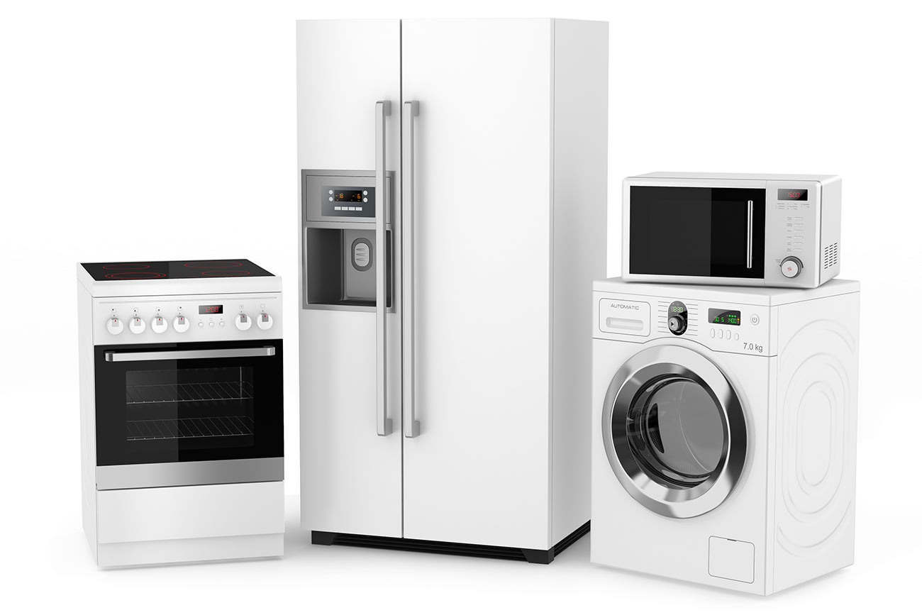 A range of appliances
